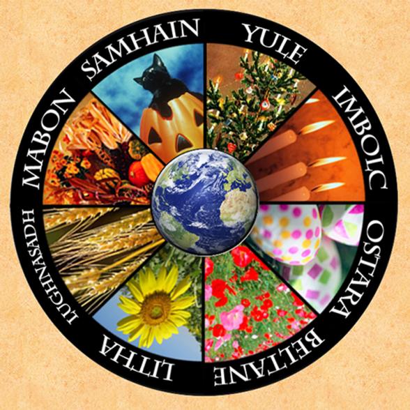 The Eight Pagan Holidays